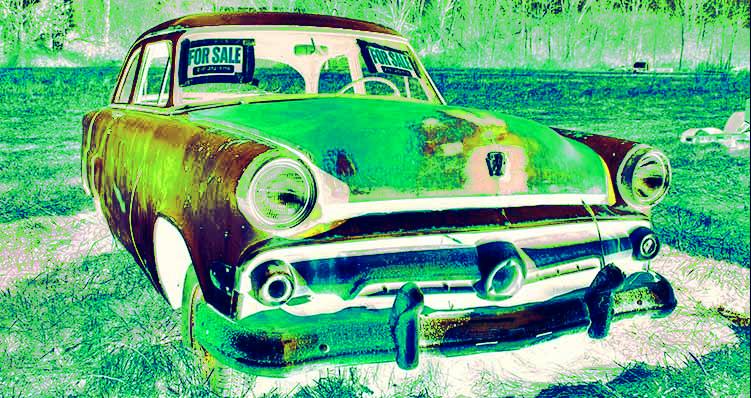 Contrato compraventa de vehículos entre particulares